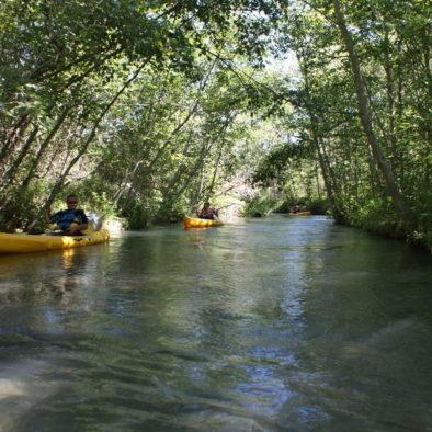 Balade Kayak proche Camping le Chêne 2019 Tallard Hautes-Alpes