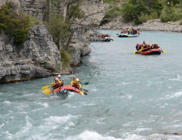 Ubaye Rafting proche Camping Le Chêne Tallard Hautes-Alpes