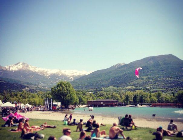 Vol a voile - Camping Le Chêne Tallard Hautes-Alpes