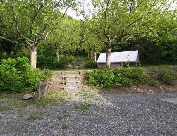 Tente prête a l'emploi - Camping Le Chêne Tallard Hautes-Alpes