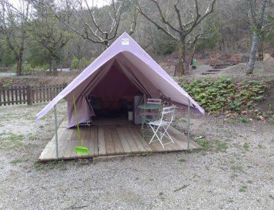 Tente Nature Location Camping le Chêne 2019 Tallard Hautes-Alpes