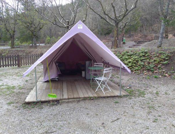 Tente Nature Camping Le Chene Tallard