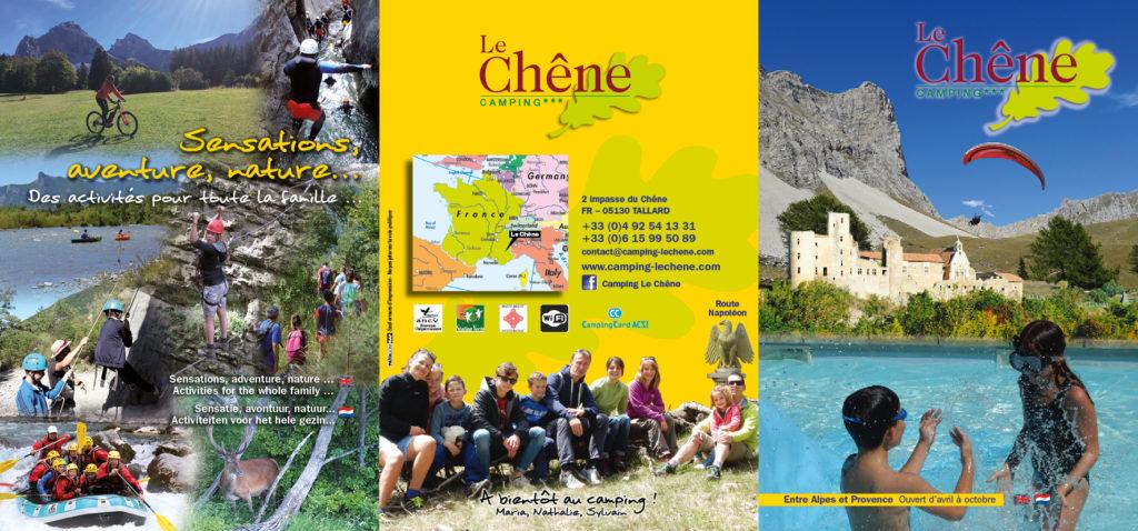 Brochure le Chêne 2019 Tallard Hautes-Alpes