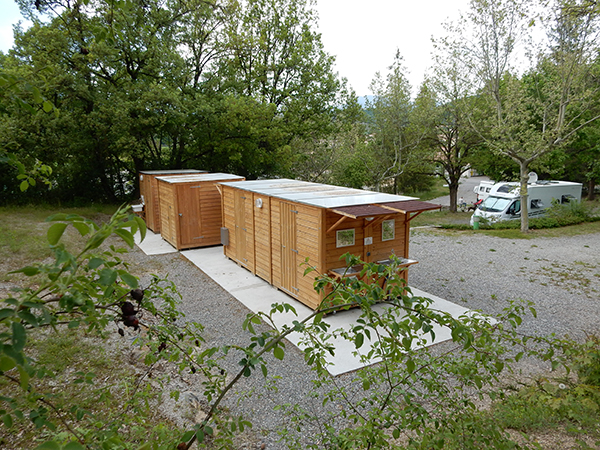 Camping Le Chene Tallard Gap - Sanitaires