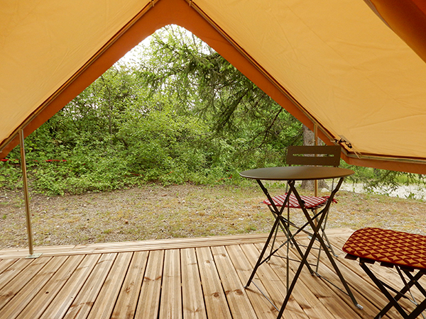 Camping Le Chene Tallard Gap - Tente prete a camper - 2 personnes