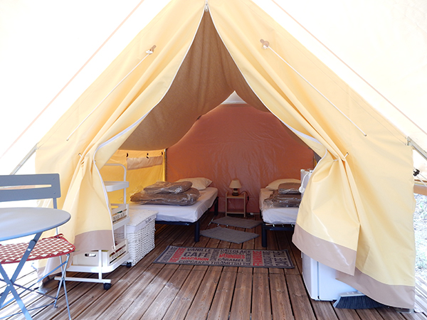 Camping Le Chene Tallard Gap - confort 2 personnes