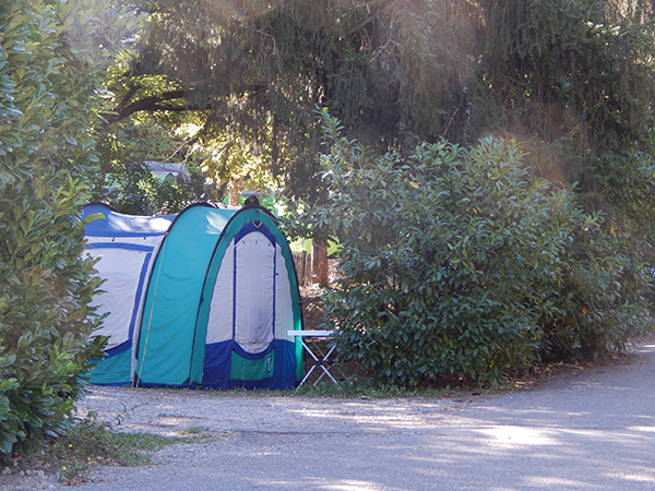Emplacement Tente nature - Camping Le Chêne Tallard - Gap