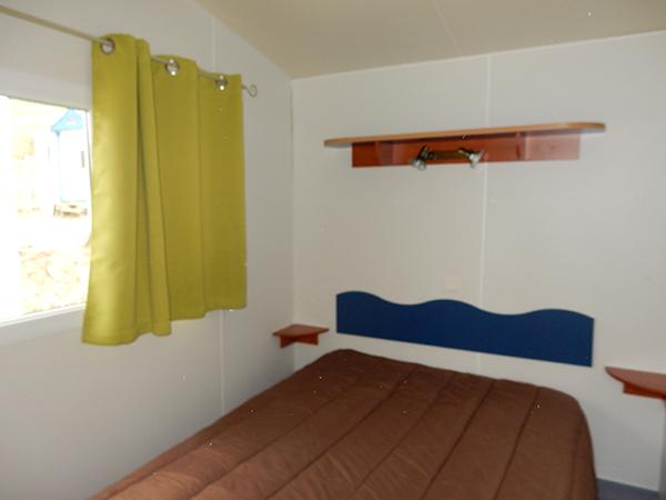 Mobil-Home Chambre - Camping Le Chêne Tallard - Location